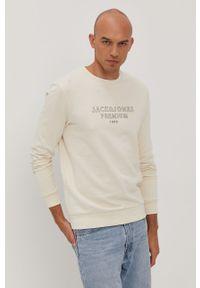 Bluza nierozpinana Premium by Jack&Jones bez kaptura, na co dzień