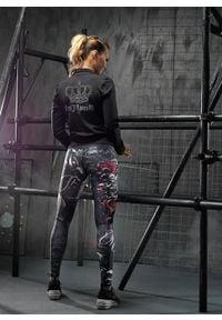 FJ! - Bluza RULES. Materiał: elastan, dzianina, poliester. Wzór: aplikacja. Sport: fitness