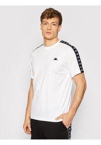 Kappa T-Shirt Ilyas 309001 Biały Regular Fit. Kolor: biały