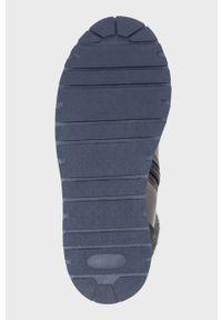Czarne buty zimowe Mayoral z cholewką, z okrągłym noskiem, na zimę