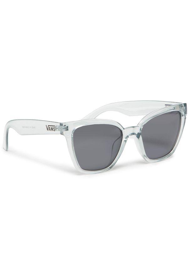 Vans - Okulary przeciwsłoneczne VANS - Hip Cat Sunglas VN0A47RHZFM1001 Ballad Blue. Kolor: niebieski
