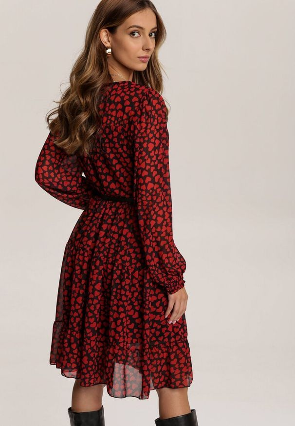 Czerwona sukienka Renee