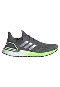 Adidas - Buty do biegania męskie adidas Ultraboost 20 FV8317. Zapięcie: sznurówki. Materiał: guma, materiał. Szerokość cholewki: normalna
