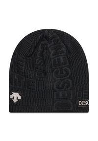 Czarna czapka zimowa Descente