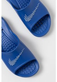 Nike Sportswear - Klapki. Kolor: niebieski. Materiał: materiał, guma. Wzór: gładki