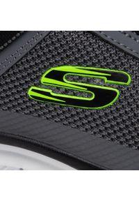 Szare buty treningowe skechers z cholewką