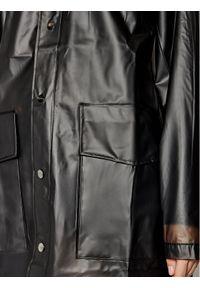 Rains Kurtka przeciwdeszczowa Unisex 1269 Czarny Regular Fit. Kolor: czarny #2