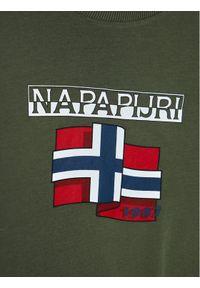 Zielony t-shirt Napapijri #3