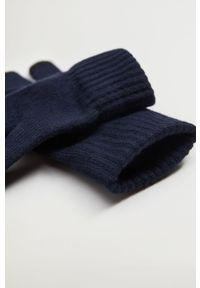 Niebieskie rękawiczki Mango Man