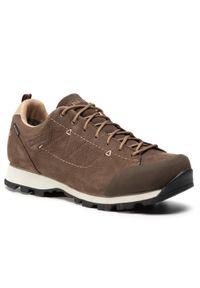 Brązowe buty trekkingowe MEINDL z cholewką, Gore-Tex, trekkingowe