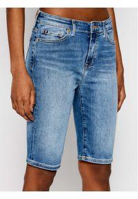Niebieskie szorty jeansowe TOMMY HILFIGER