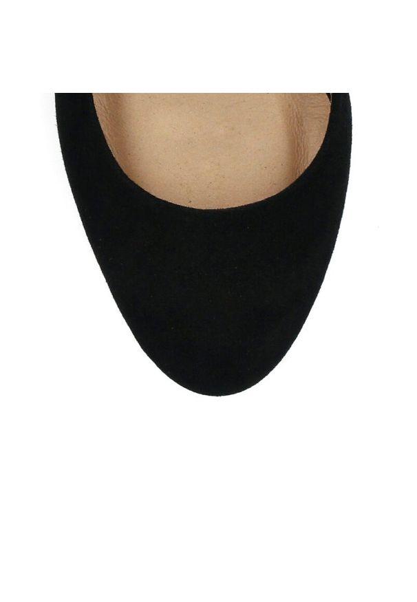 Czarne czółenka Arturo Vicci casualowe, na co dzień
