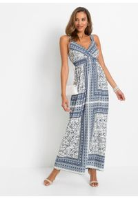 Niebieska sukienka bonprix maxi, na lato
