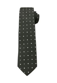 Krawat Alties elegancki, w grochy