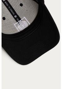 Czarna czapka z daszkiem Element z aplikacjami