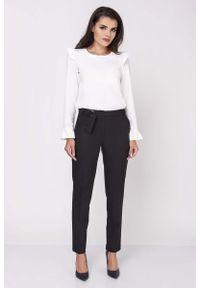 Czarne spodnie Nommo eleganckie