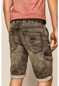 medicine - Medicine - Szorty jeansowe Basic. Kolor: szary. Materiał: jeans