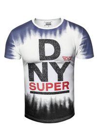 T-shirt z nadrukiem Recea casualowy, na co dzień