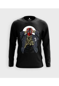 MegaKoszulki - Koszulka męska z dł. rękawem Rapper Deadpool. Materiał: bawełna