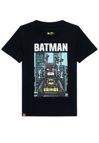 Czarny t-shirt LEGO Wear