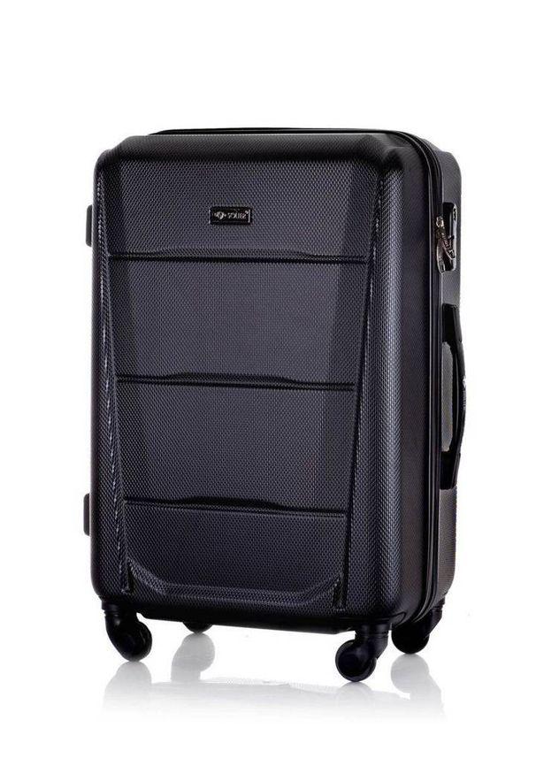 Czarna walizka Solier