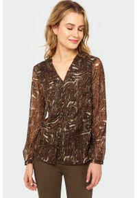 Bluzka Greenpoint z nadrukiem, elegancka