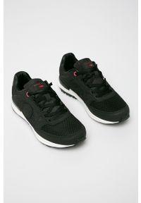Cross Jeans - Buty. Nosek buta: okrągły. Zapięcie: sznurówki. Kolor: czarny. Szerokość cholewki: normalna