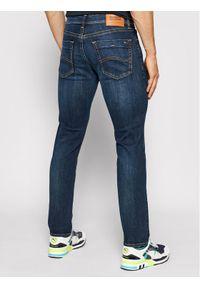 Tommy Jeans Jeansy Slim Fit DM0DM03957 Granatowy Slim Fit. Kolor: niebieski. Materiał: elastan, poliester, bawełna