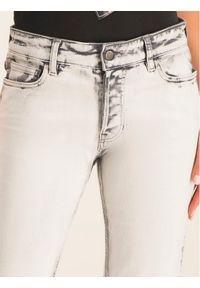 Białe jeansy Emporio Armani