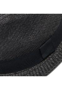 Jack & Jones - Kapelusz JACK&JONES - Tim Straw Hat 12152899 Black. Kolor: czarny