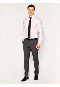 JOOP! - Joop! Spodnie materiałowe 17 Jt-24Hanc-W 30019334 Szary Slim Fit. Kolor: szary. Materiał: materiał