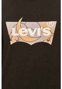 Czarna bluza Levi's® długa, z długim rękawem