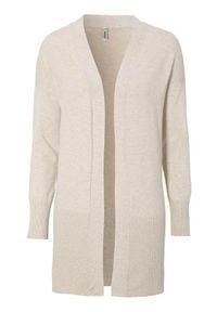 Soyaconcept Sweter Dollie beżowy melanż female beżowy M (40). Kolor: beżowy. Materiał: dzianina. Długość: długie. Wzór: melanż
