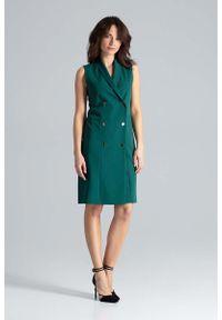 Zielona sukienka Katrus szmizjerki