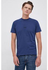 Bomboogie - T-shirt bawełniany. Kolor: niebieski. Materiał: bawełna. Wzór: gładki