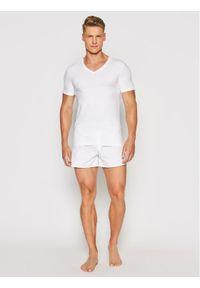 Hanro Podkoszulek Superior 3089 Biały Slim Fit. Kolor: biały