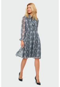 Sukienka Greenpoint elegancka, z nadrukiem