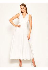 Biała sukienka Sportmax Code casualowa, na co dzień