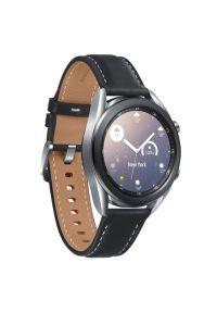 Srebrny zegarek SAMSUNG smartwatch, elegancki