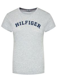 TOMMY HILFIGER - Tommy Hilfiger T-Shirt UW0UW00091 Szary Slim Fit. Kolor: szary