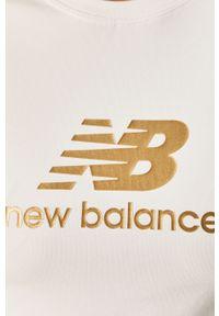 Biała bluzka New Balance casualowa, na co dzień #5
