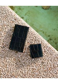 BALAGAN - Czarny portfel DASH CROC. Kolor: czarny