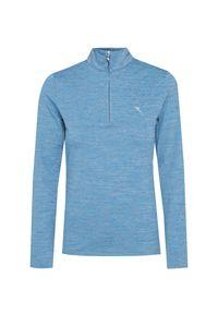 Niebieski sweter Chervo melanż, krótki