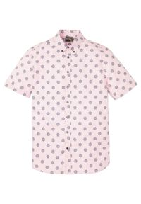 Koszula z krótkim rękawem bonprix pastelowy jasnoróżowy. Kolor: różowy. Długość rękawa: krótki rękaw. Długość: krótkie