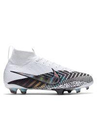 Buty dla dzieci piłkarskie Nike Mercurial Superfly 7 Elite MDS FG BQ5420. Materiał: materiał, syntetyk, skóra. Szerokość cholewki: normalna. Sport: piłka nożna