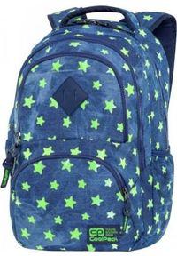 Patio Plecak szkolny Dart - Denim Stars niebieski. Kolor: niebieski. Materiał: denim