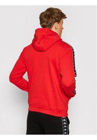 Kappa Bluza Igon 309043 Czerwony Regular Fit. Kolor: czerwony
