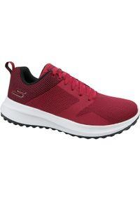 Czerwone sneakersy skechers z cholewką