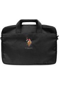 U.S. Polo - Torba na laptopa US POLO 15 cali Czarny. Kolor: czarny