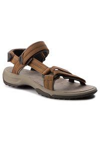 Brązowe sandały Teva